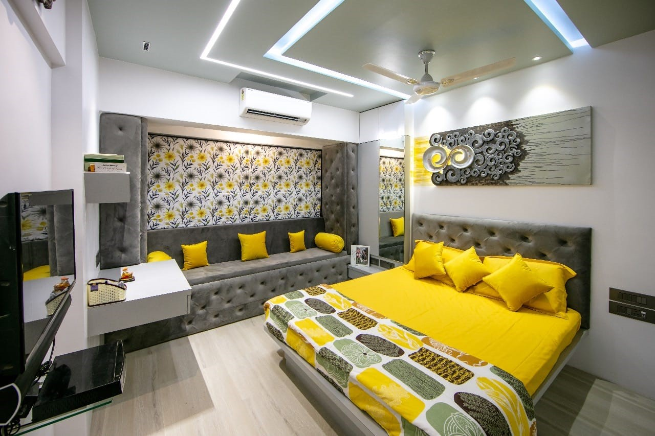 Interior Design Budget 4 Bhk Apartment In Thane Aasha Interiors